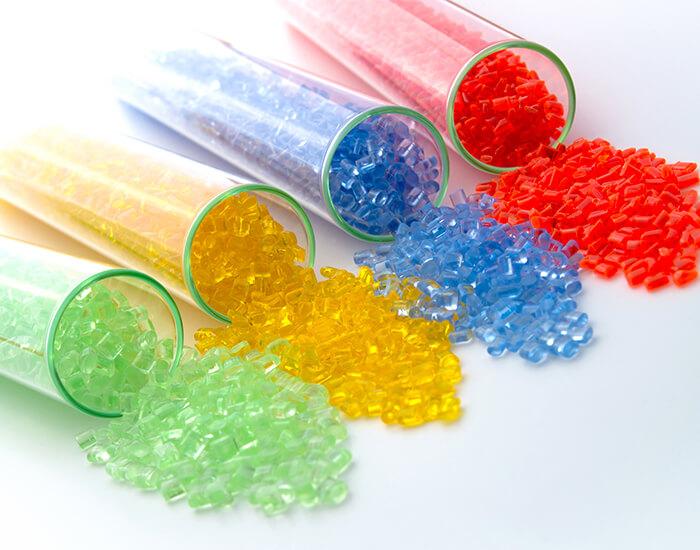 Plastic or Rubber Pellet